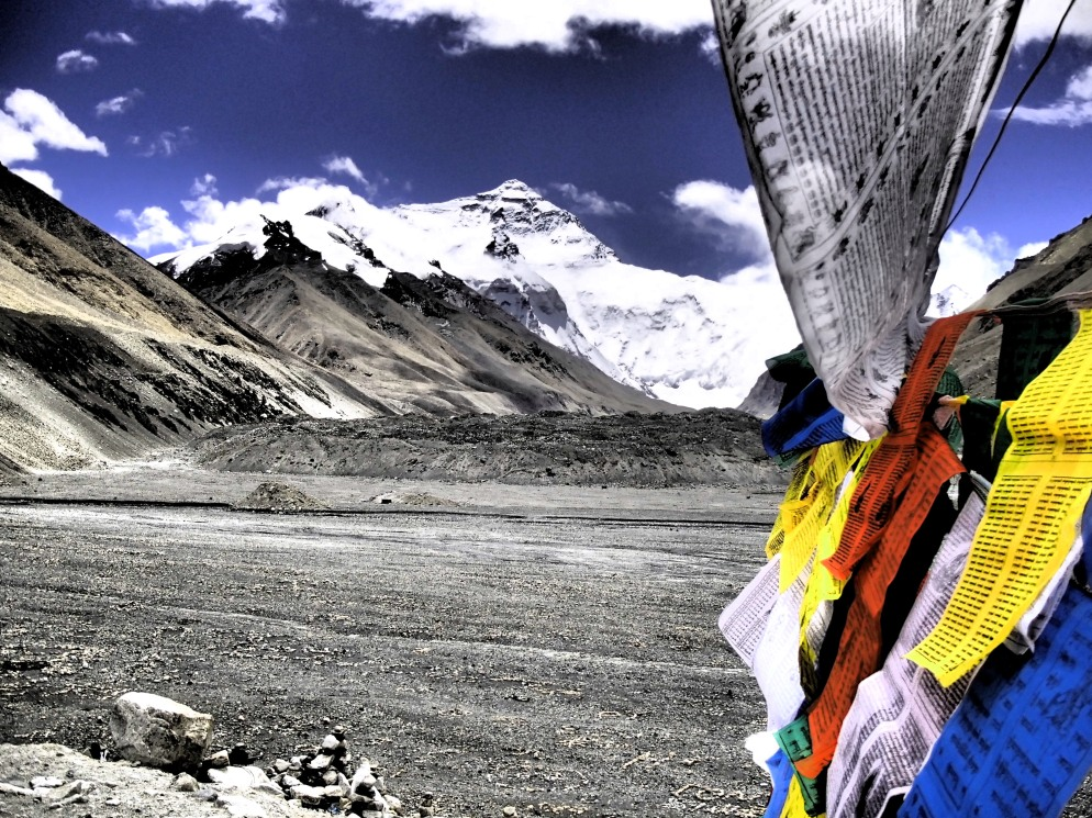 Basecamp Mt Everest