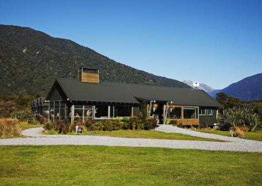 The secluded Martins Bay Lodge
